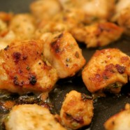 Garlic Chicken kebabs.