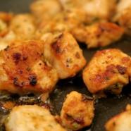Garlic Chicken kebabs.