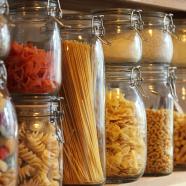 Food store cupboard.