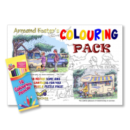 Caravan & Motorhome colouring book