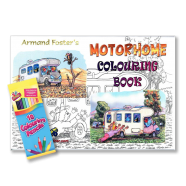 Motorhome colouring book