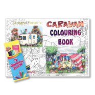 Caravan colouring book